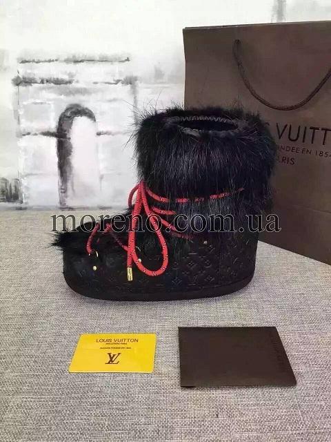 5ed02f353bf3 Сапоги Louis Vuitton OFF PISTE на меху