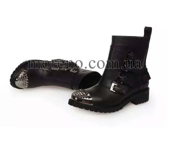 Ботинки Miu Miu с шипами на носочках 9f60d5477e8