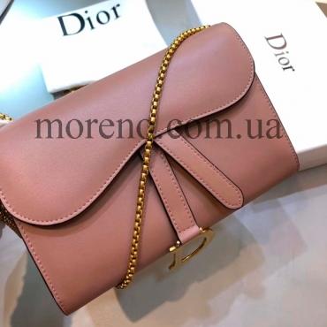 Сумочка-кошелек Dior на цепочке b13bcafa93c