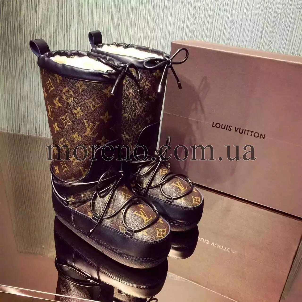 0eb62439d08e Сапоги Louis Vuitton SNOW DAY на меху фото 1 ...