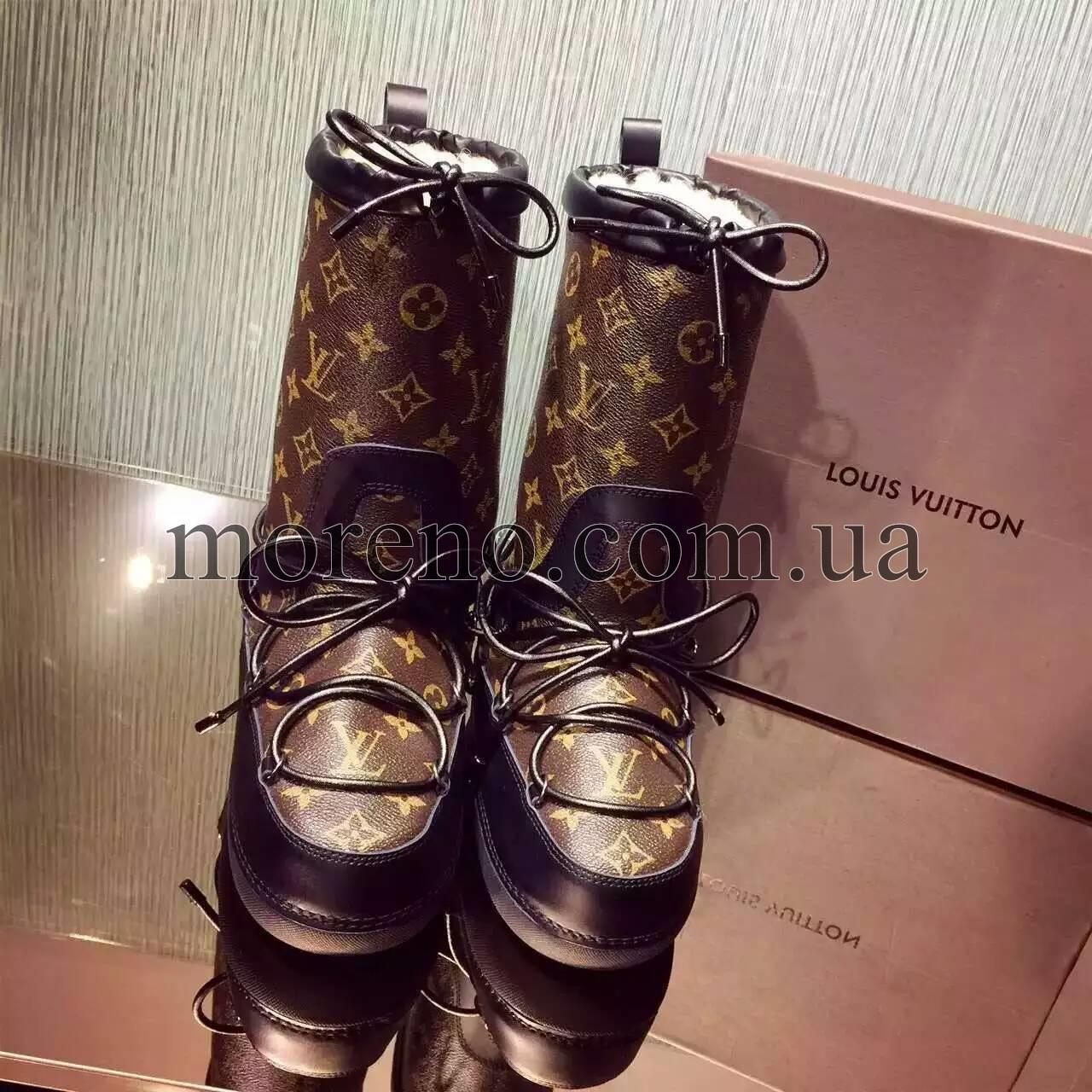 620c0e0e990c Сапоги Louis Vuitton SNOW DAY на меху фото 6