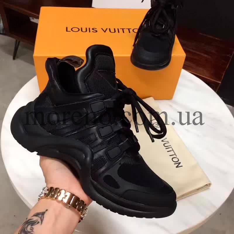 314d06ffd69c Кроссовки Louis Vuitton Archlight черные