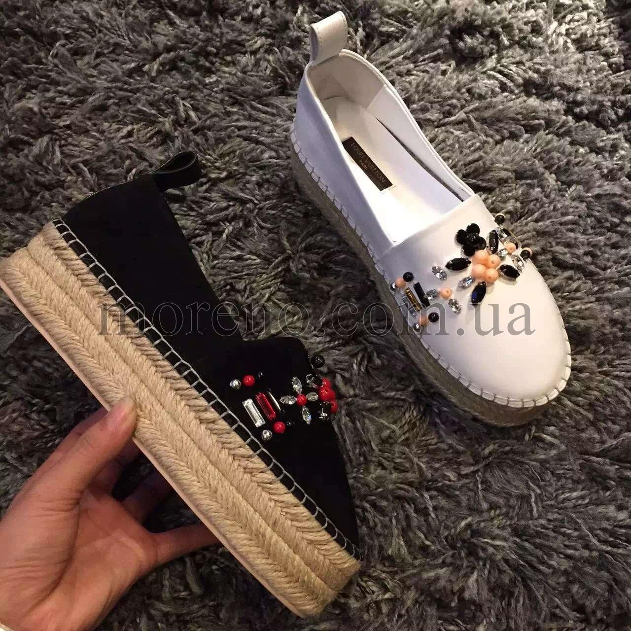 234150402b28 Эспадрильи Louis Vuitton на платформе фото 3