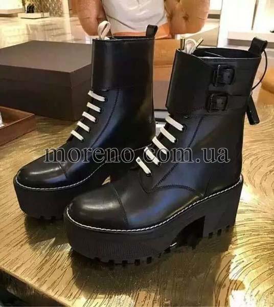 Ботинки LV высокие на шнуровке 11aa047e4e9