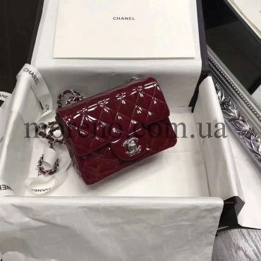 Сумка Chanel mini patent leather