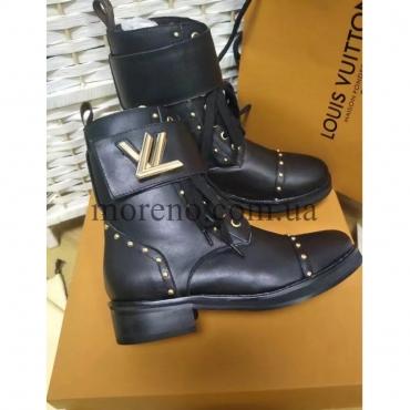98d54d41fc8c Ботинки Louis Vuitton черные